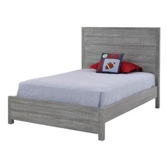 Montauk Gray Full Bed Made in Brazil