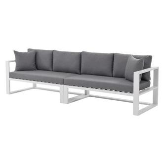 Mykonos Gray Oversized Sofa