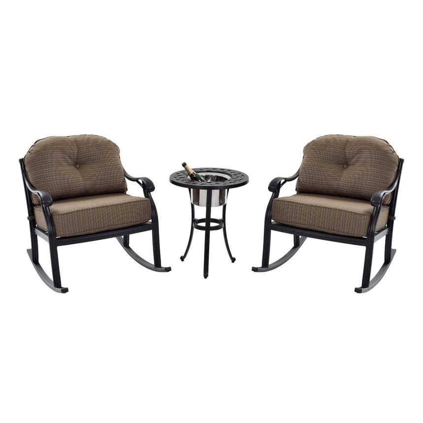 Castle Rock Brown 3-Piece Patio Set  main image, 1 of 9 images.