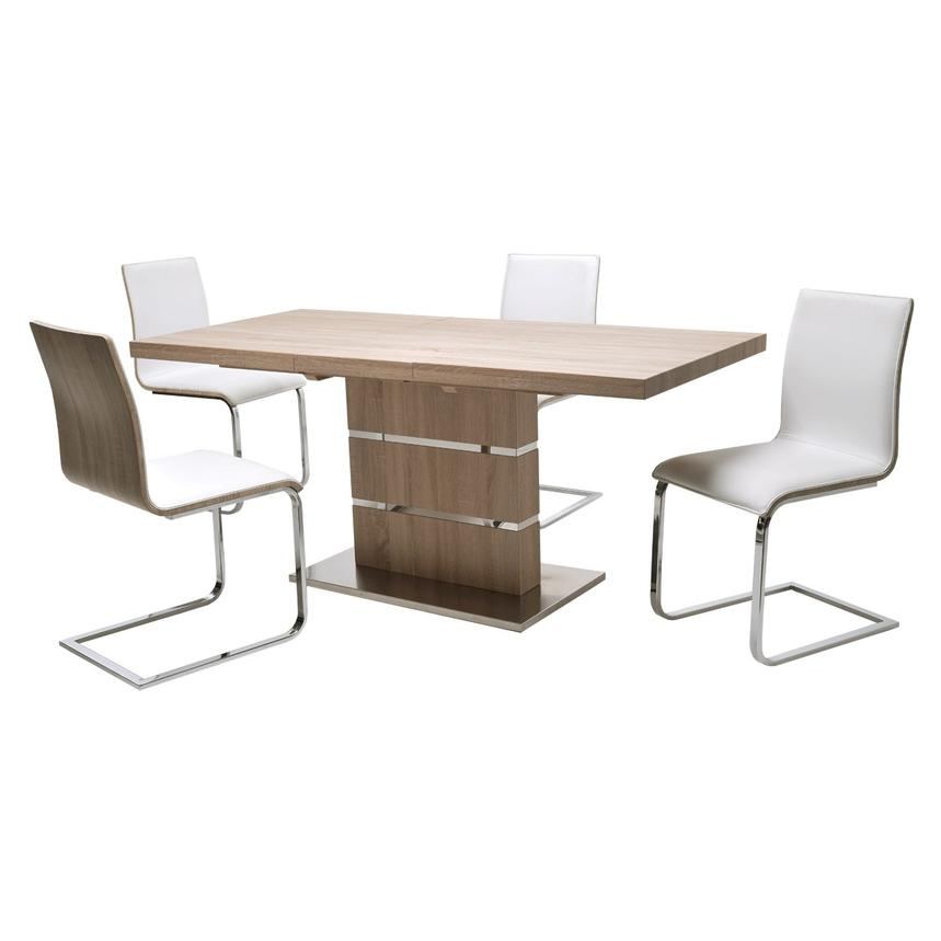 Lorange/Solimar 5-Piece Casual Dining Set  main image, 1 of 9 images.