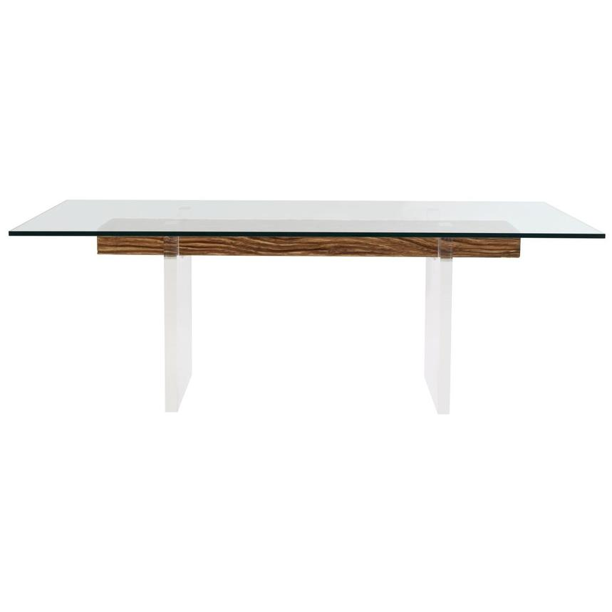 Miami Beach Natural Rectangular Dining Table Main Image, 1 Of 7 Images.