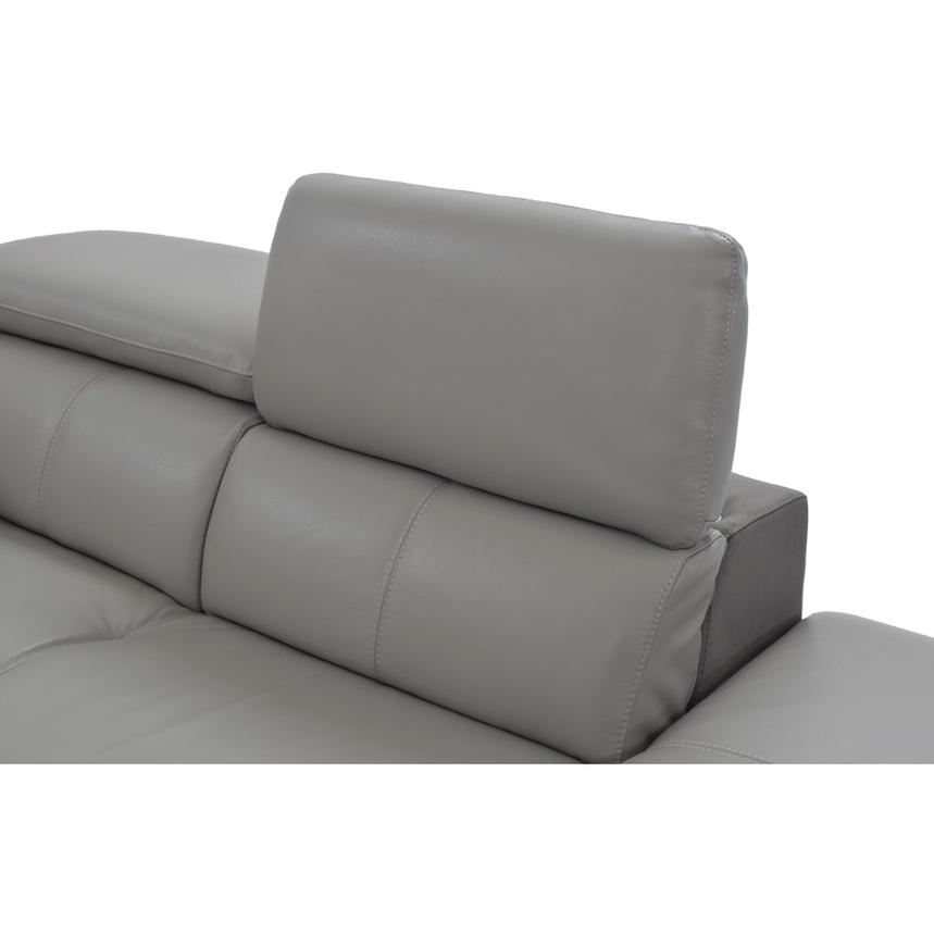 Richardson Power Motion Leather Sofa W Right Chaise El