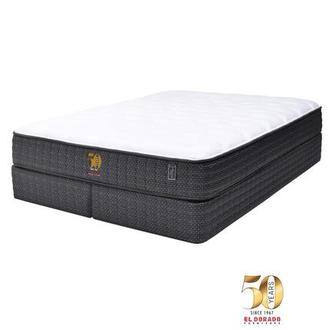 50th Anniversary Soft King Mattress Set w/Regular Foundation by Carlo Perazzi