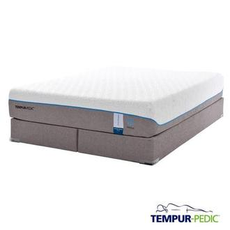 Cloud Supreme Breeze Memory Foam King Mattress Set w/Low Foundation by Tempur-Pedic