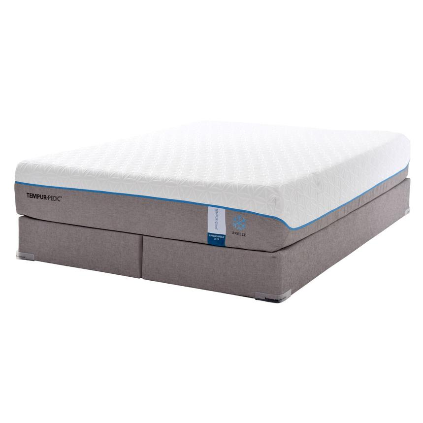 Cloud Supreme Breeze Memory Foam King Mattress Set w/Low Foundation by Tempur-Pedic  main image, 1 of 5 images.