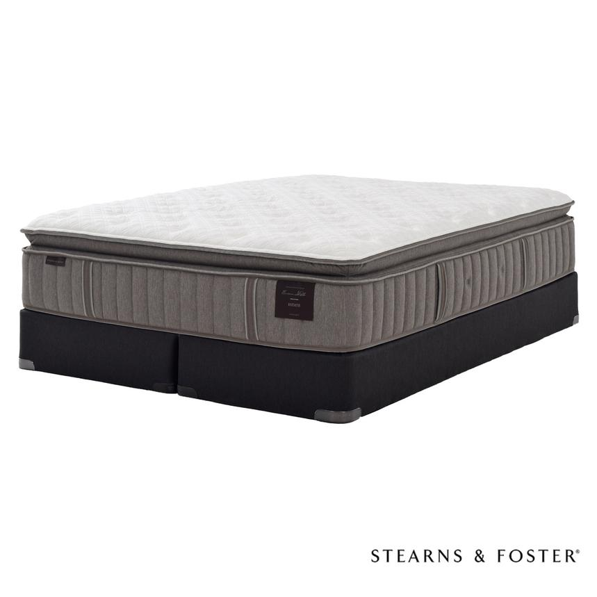 Oak Terrace IV King Mattress Set w/Low Foundation by Stearns & Foster  main image, 1 of 5 images.