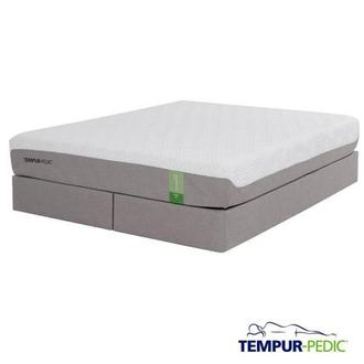 Tempur-Flex Prima Memory Foam King Mattress Set w/Regular Foundation by Tempur-Pedic