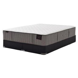 Scarborough III King Mattress Set w/Regular Foundation by Stearns & Foster