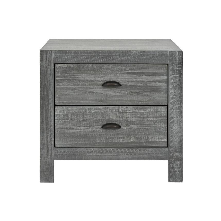 Montauk Gray Nightstand Made in Brazil  main image, 1 of 7 images.