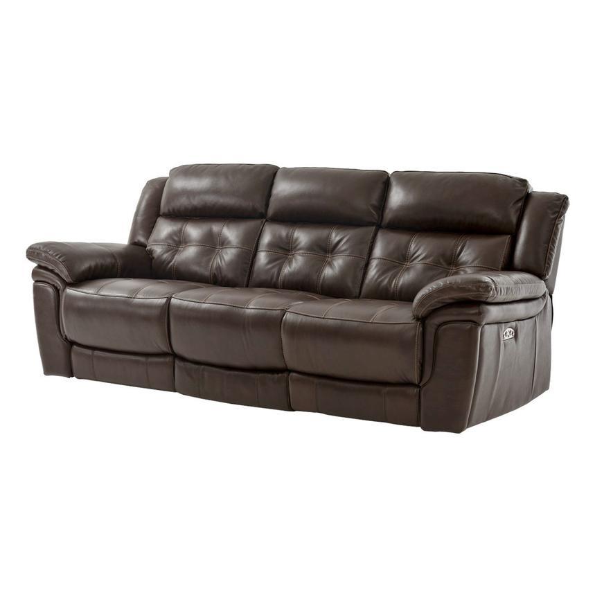 stallion brown power motion leather sofa el dorado furniture rh eldoradofurniture com motion leather sofas made in usa leather motion sofa costco