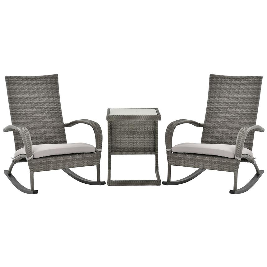 Neilina Gray 3 Piece Patio Set Main Image 1 Of 10 Images