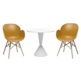 Naples White 3 Piece Patio Set El Dorado Furniture