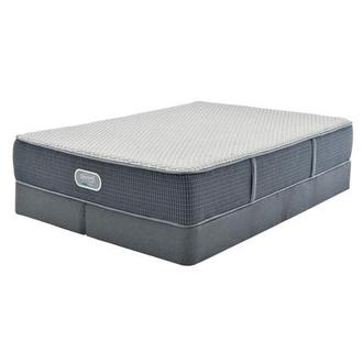 Marshall HB King Mattress w/Low Foundation by Simmons Beautyrest Silver