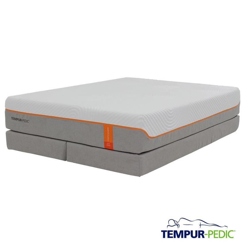 Contour Elite King Memory Foam Mattress w/Regular Foundation by Tempur-Pedic  main image, 1 of 5 images.