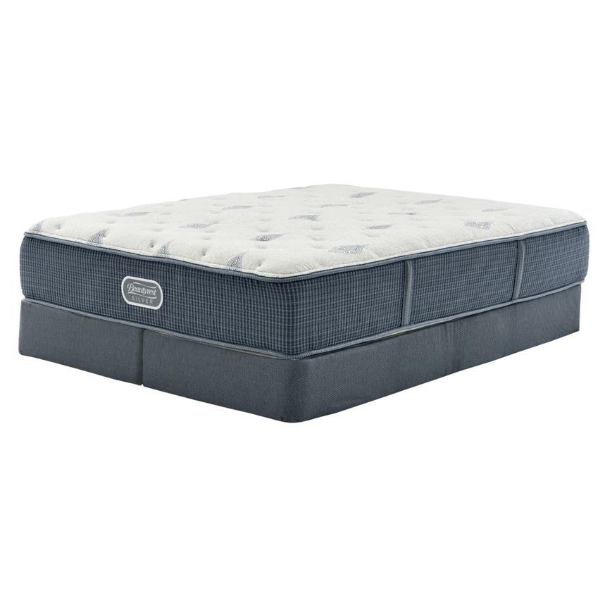 Bay Point King Mattress w/Regular Foundation by Simmons Beautyrest Silver  main image, 1 of 5 images.