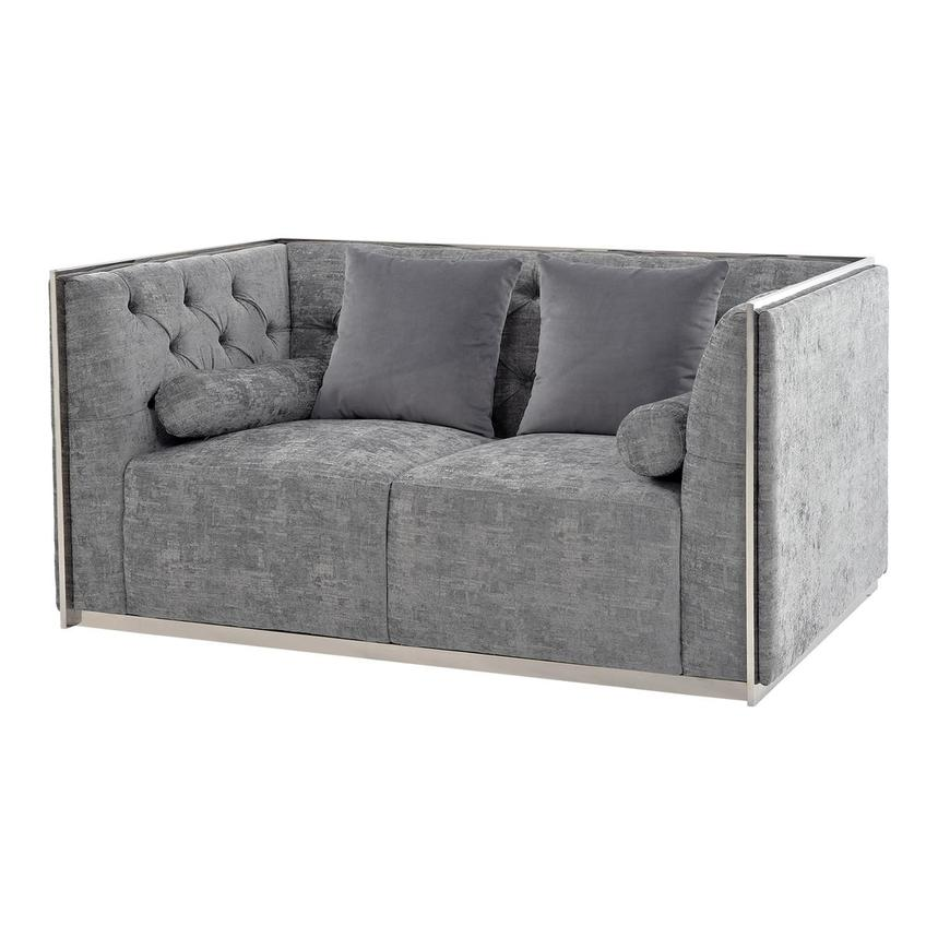 Emma Gray Loveseat  main image, 1 of 7 images.