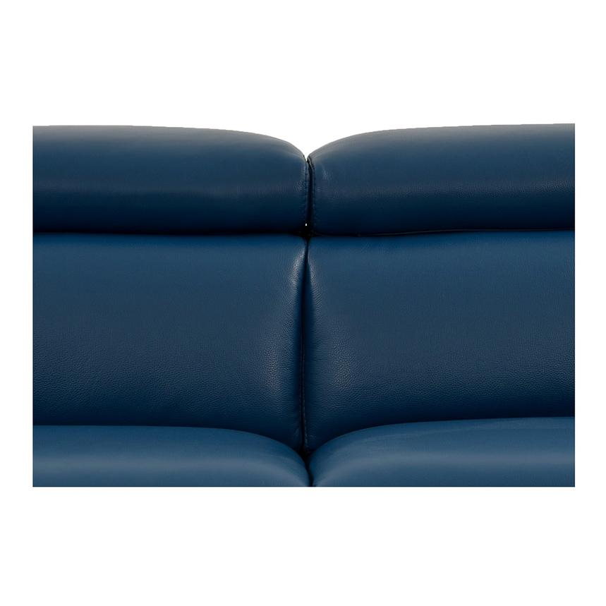 James Blue Power Motion Recliner Leather Sofa  alternate image, 5 of 10 images.