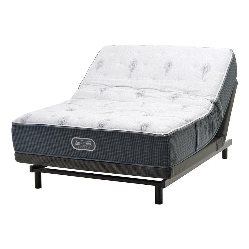 Bay Point Queen Mattress w/SmartMotion™ 1.0 Powered Base  main image, 1 of 3 images.