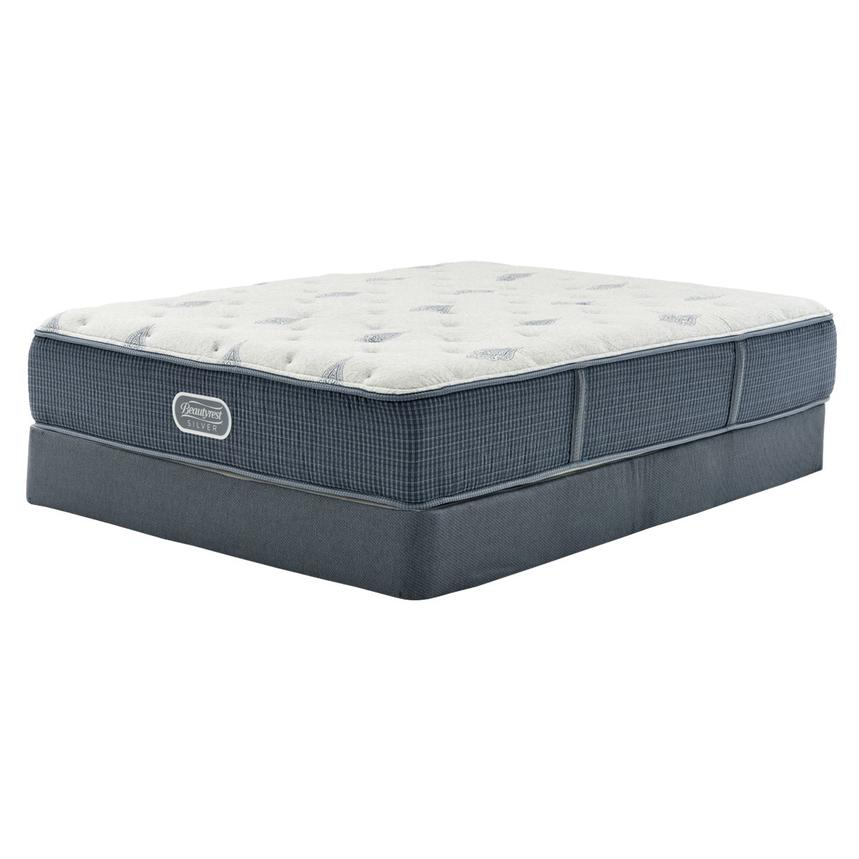 Bay Point Full Mattress w/Regular Foundation by Simmons Beautyrest Silver  main image, 1 of 5 images.