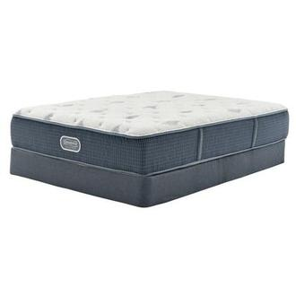 Bay Point Full Mattress w/Regular Foundation by Simmons Beautyrest Silver