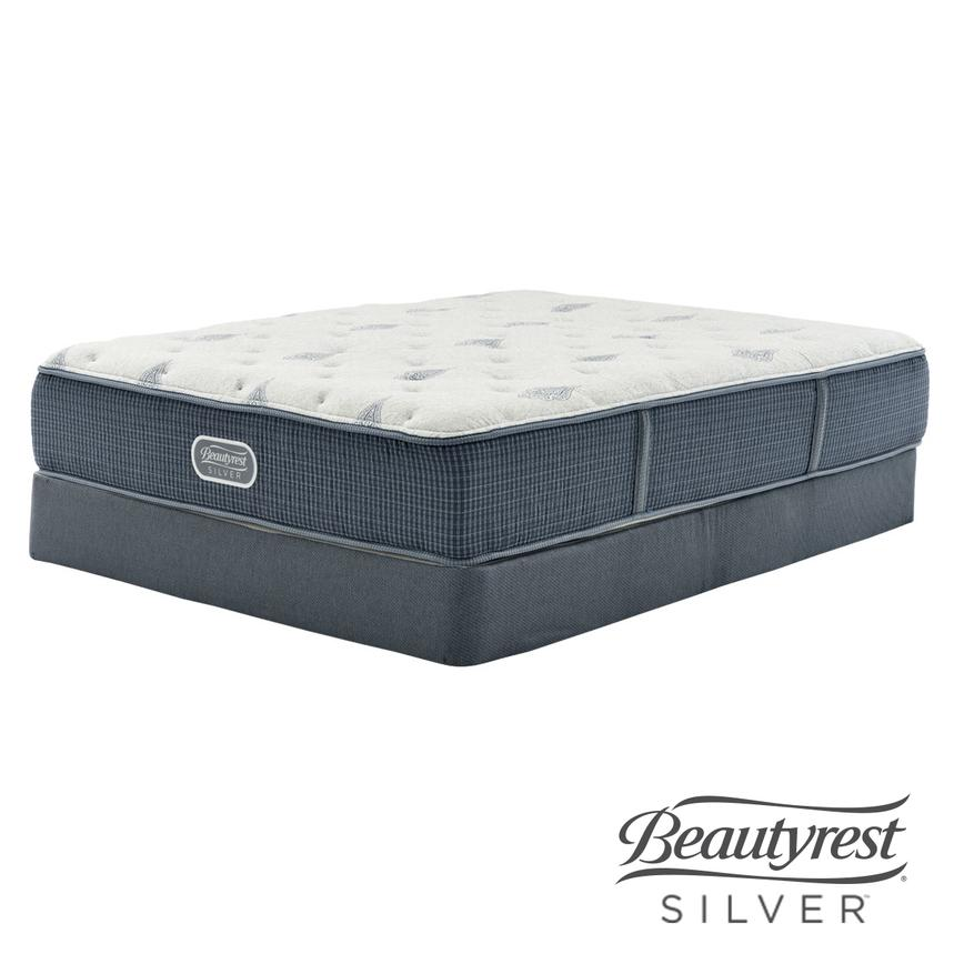 Bay Point Twin XL Mattress w/Regular Foundation by Simmons Beautyrest Silver  main image, 1 of 5 images.