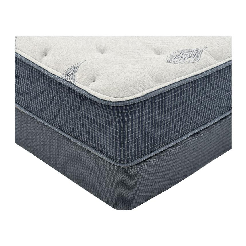 Bay Point Twin Mattress w/Low Foundation by Simmons Beautyrest Silver  alternate image, 2 of 5 images.