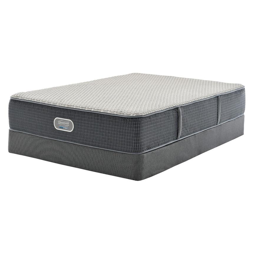 New London HB Full Mattress w/Low Foundation by Simmons Beautyrest Silver  main image, 1 of 5 images.
