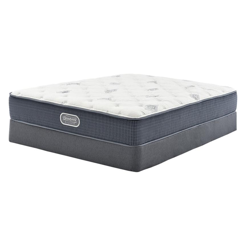 Ocean Springs Twin XL Mattress w/Low Foundation by Simmons Beautyrest Silver  main image, 1 of 4 images.