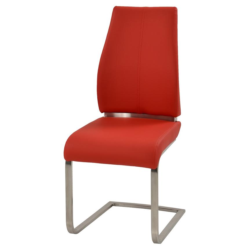 Maday Red Side Chair  alternate image, 2 of 5 images.