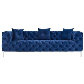 Crandon Blue Sofa