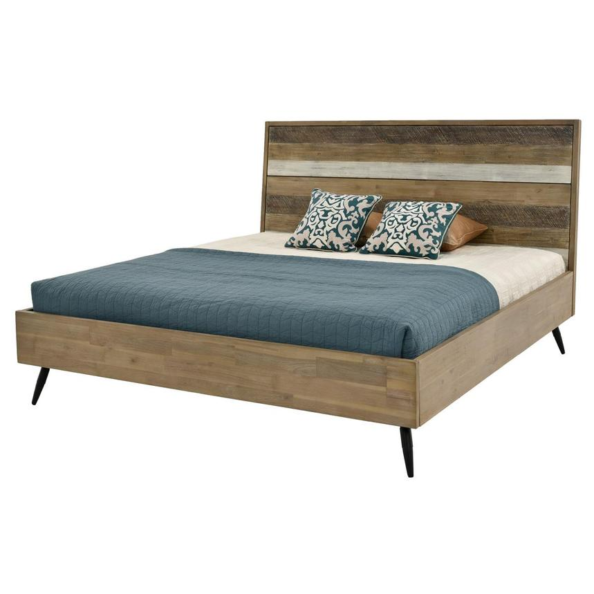 Key West Queen Platform Bed  main image, 1 of 5 images.