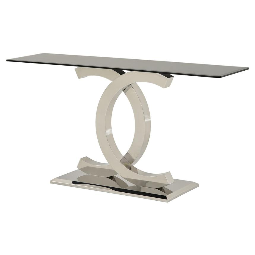 Otti Black Console Table  main image, 1 of 6 images.