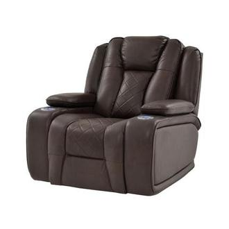 Chanel Brown Power Motion Recliner
