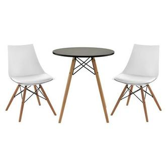 Annette White 3-Piece Casual Dining Set