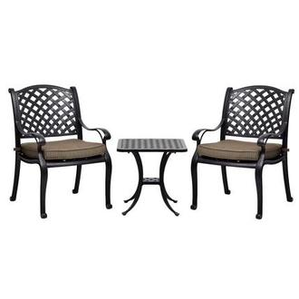 Castle Rock Brown 3-Piece Patio Set