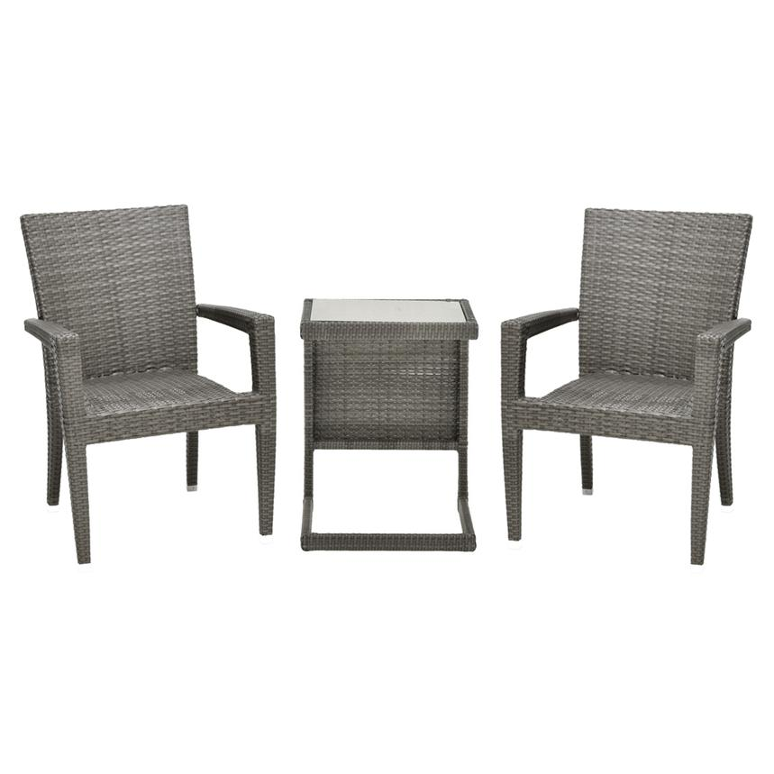 Neilina Gray 3-Piece Patio Set  main image, 1 of 9 images.