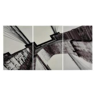 Brooklyn III Set of 3 Acrylic Wall Art