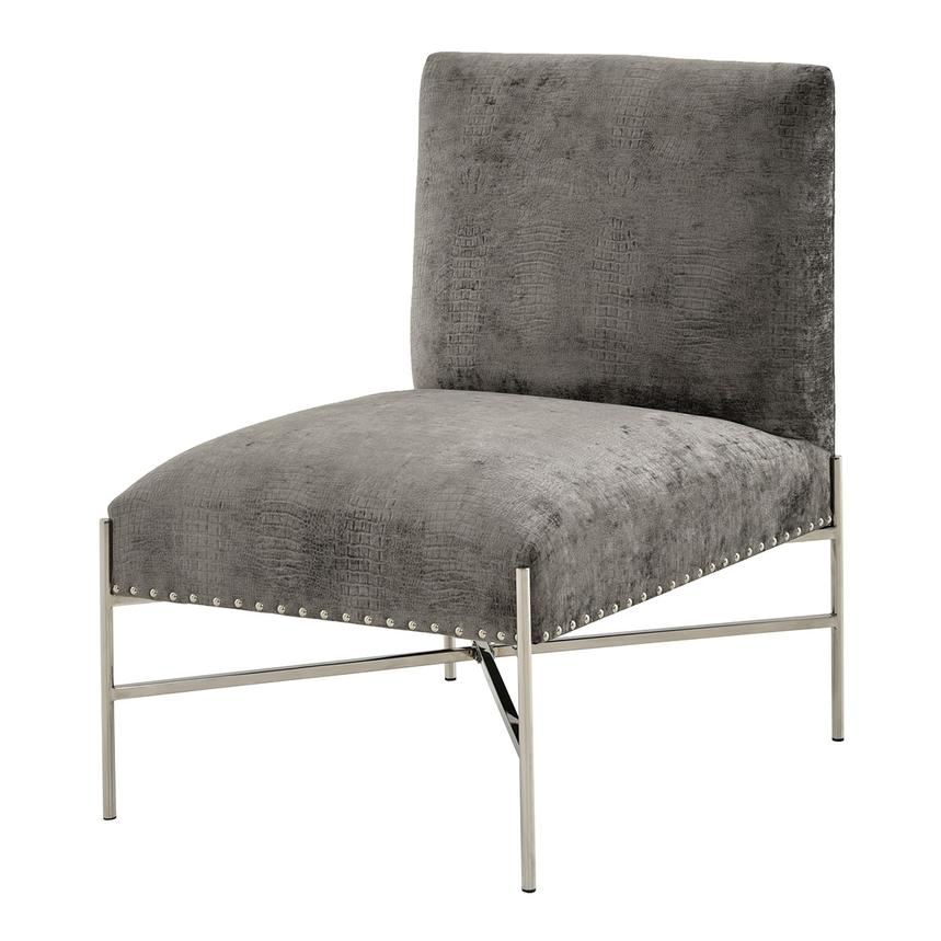 Barrymore Gray Accent Chair  main image, 1 of 6 images.