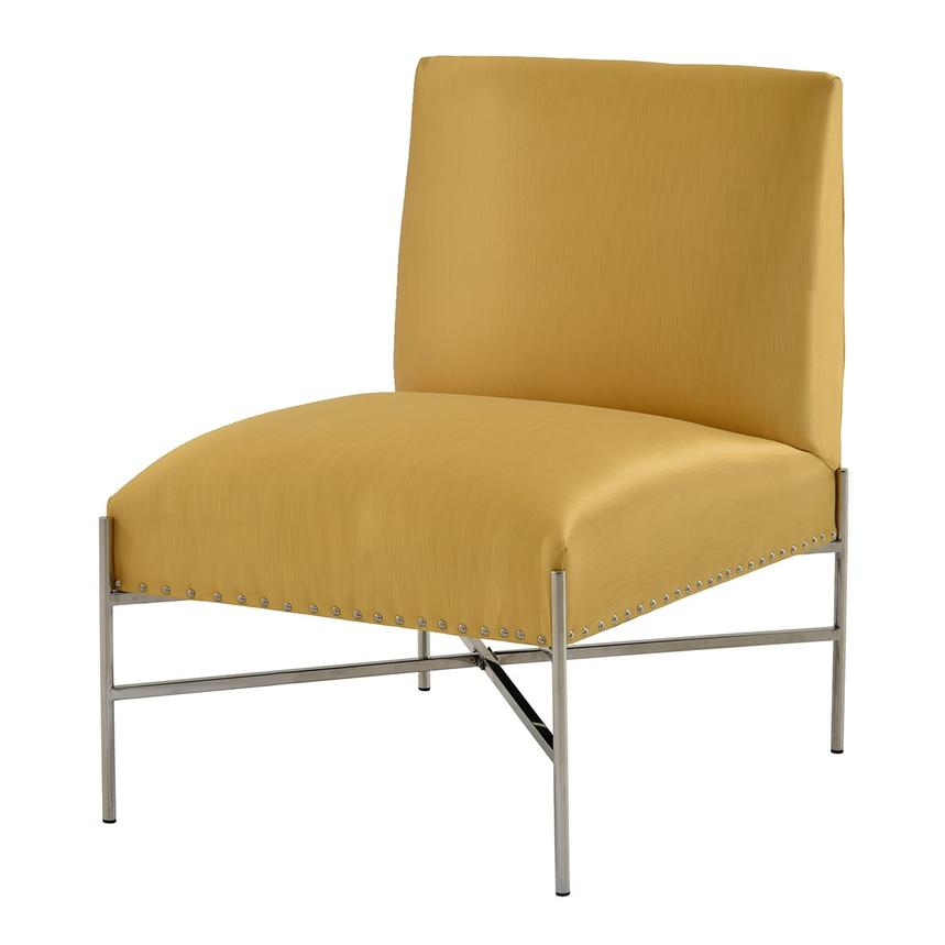 Barrymore Yellow Accent Chair  main image, 1 of 7 images.