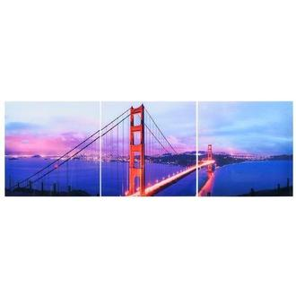 Golden Gate Set of 3 Acrylic Wall Art
