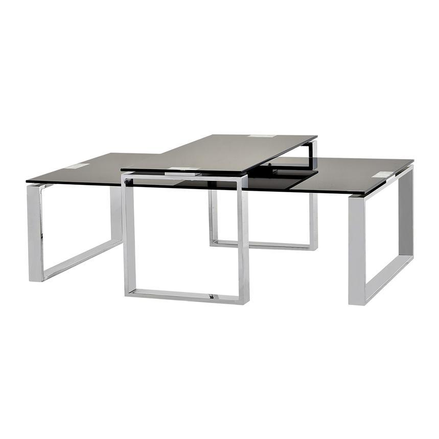Katrine Black Coffee Table Set Of 2 Main Image 1 6 Images