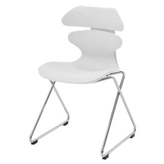 Sunflower White Guest Chair
