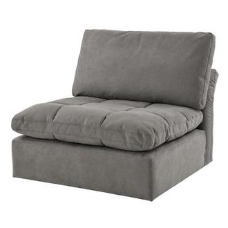 Francine Gray Armless Chair