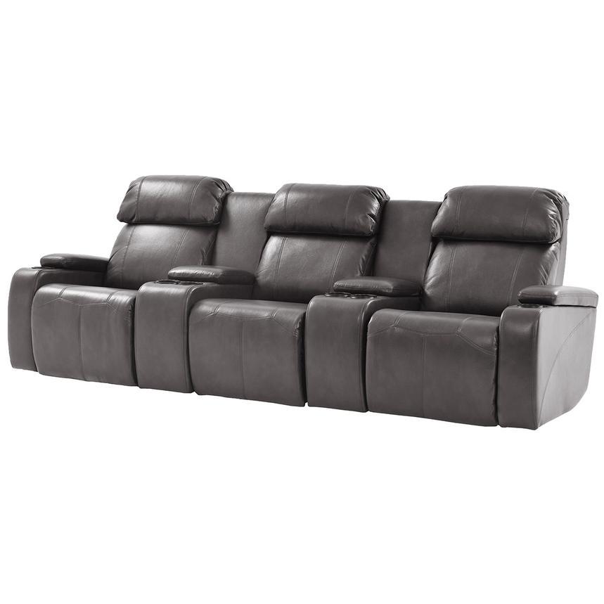 magnetron gray home theater seating el dorado furniture