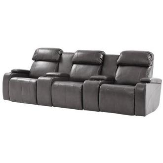 Magnetron Gray Home Theater Seating