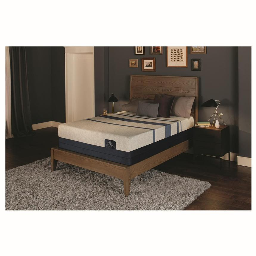 iComfort Blue 300 Twin XL Mattress w/Regular Foundation by Serta  alternate image, 2 of 4 images.