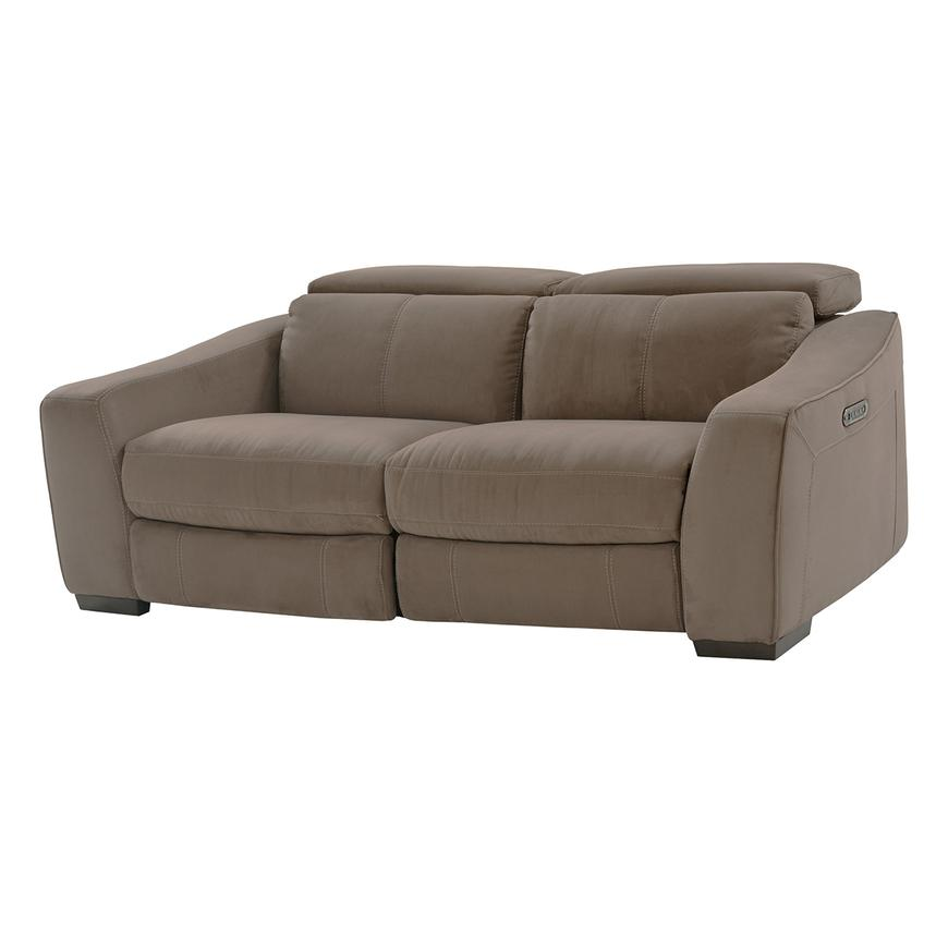 Jameson Brown Loveseat  main image, 1 of 8 images.