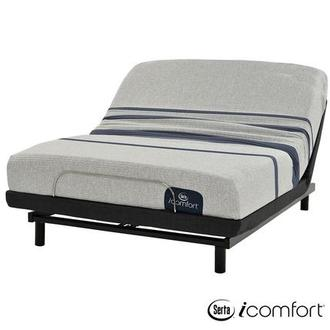 iComfort Blue 100 King Mattress w/Essentials III Powered Base by Serta