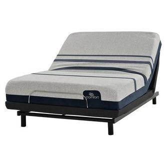 iComfort Blue 300 Full Mattress w/Essentials III Powered Base by Serta