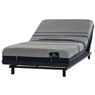 iComfort Blue Max 1000 Cushion Firm Twin XL Mattress w/Essentials III Powered Base by Serta